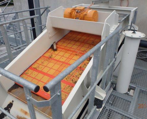 Entwässerungsieb Recycling - Aufbereitung -Fördertechnik - 1