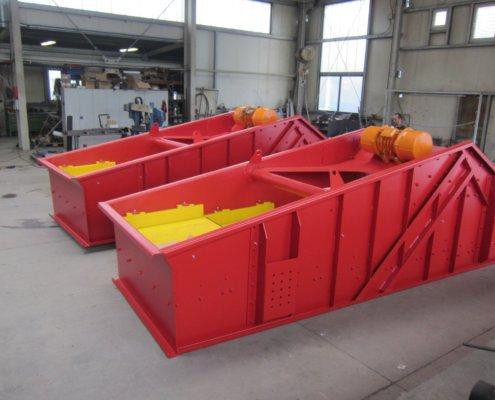 Entwässerungsieb Recycling - Aufbereitung -Fördertechnik - 10