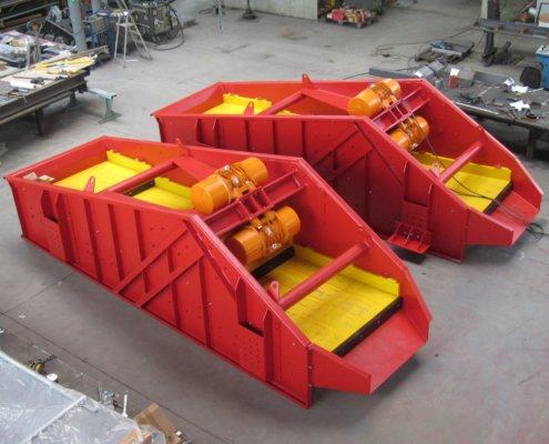 Entwässerungsieb Recycling - Aufbereitung -Fördertechnik - 11