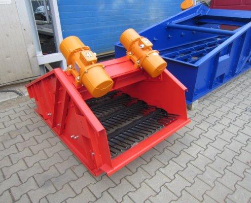 Entwässerungsieb Recycling - Aufbereitung -Fördertechnik - 13