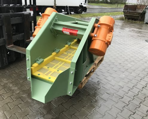 Entwässerungsieb Recycling - Aufbereitung -Fördertechnik - 17