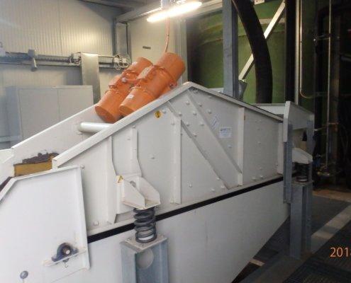 Entwässerungsieb Recycling - Aufbereitung -Fördertechnik - 19