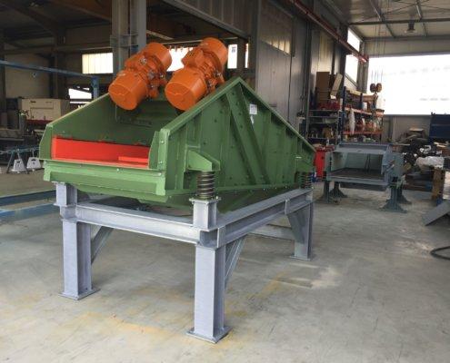 Entwässerungsieb Recycling - Aufbereitung -Fördertechnik - 2