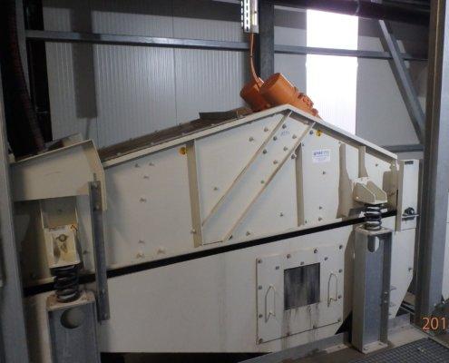 Entwässerungsieb Recycling - Aufbereitung -Fördertechnik - 21