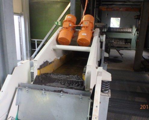 Entwässerungsieb Recycling - Aufbereitung -Fördertechnik - 22