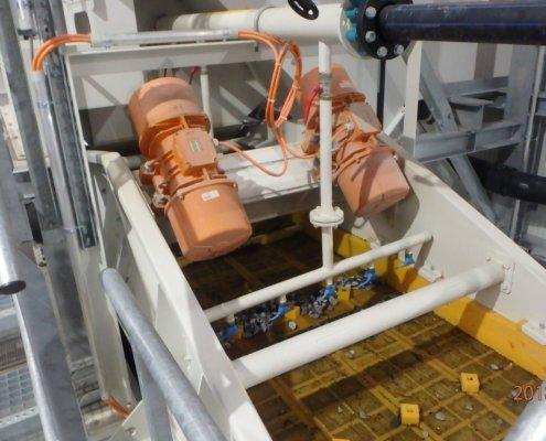 Entwässerungsieb Recycling - Aufbereitung -Fördertechnik - 23