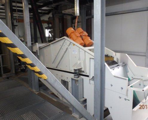 Entwässerungsieb Recycling - Aufbereitung -Fördertechnik - 24
