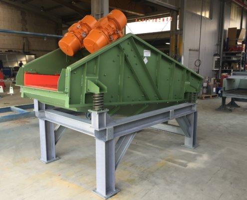 Entwässerungsieb Recycling - Aufbereitung -Fördertechnik - 3