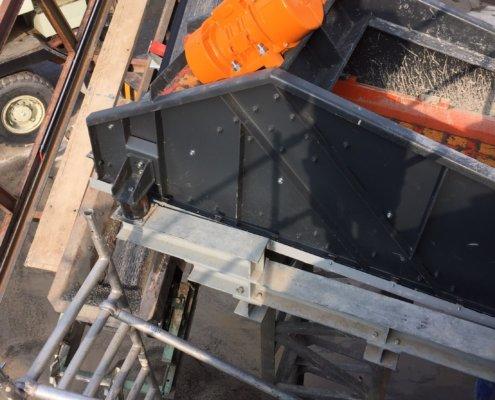 Entwässerungsieb Recycling - Aufbereitung -Fördertechnik - 4