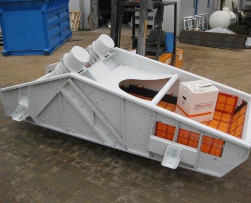 Entwässerungsieb Recycling - Aufbereitung -Fördertechnik - 6
