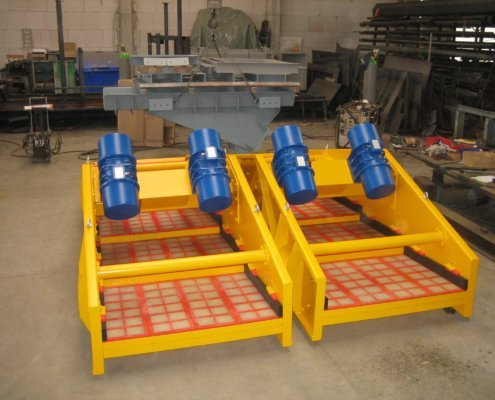 Entwässerungsieb Recycling - Aufbereitung -Fördertechnik - 7