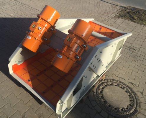 Entwässerungsieb Recycling - Aufbereitung -Fördertechnik - 8