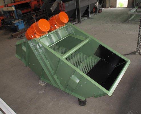 Fingersiebmaschine - Sieben - Aufbereitung - Recycling