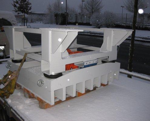 Rütteltische - Aufbereitung Recycling Fördertechnik