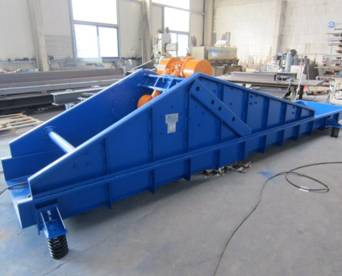 Schwingförderrinne - Recycling - Fördertechnik - 16