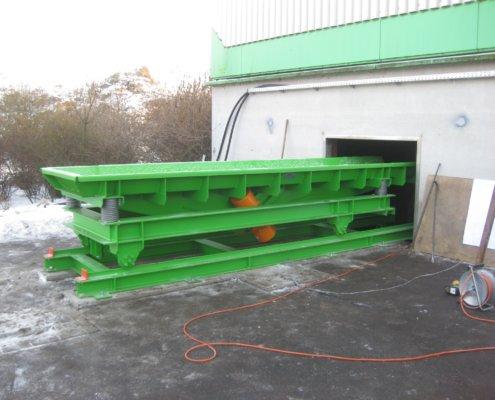 Schwingförderrinne - Recycling - Fördertechnik - 17