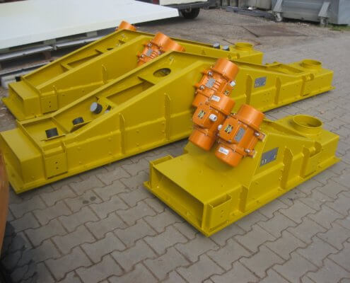 Schwingförderrinne - Recycling - Fördertechnik - 25