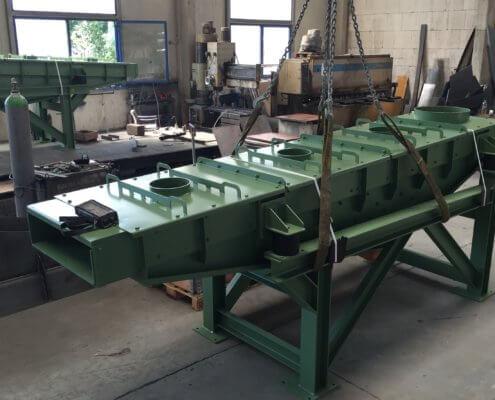 Schwingförderrinne - Recycling - Fördertechnik - 28