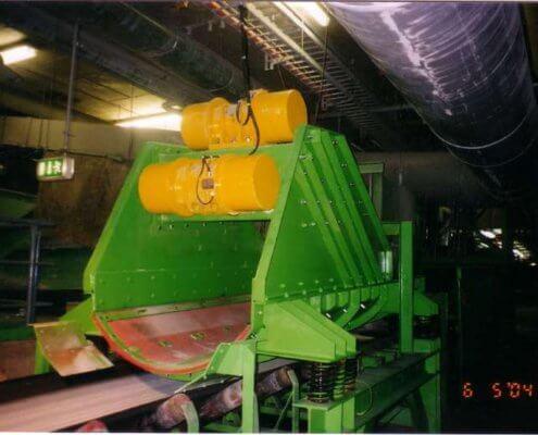 Schwingförderrinne - Recycling - Fördertechnik - 4