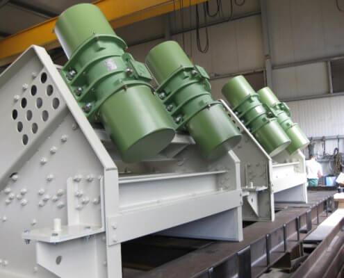 Schwingförderrinne - Recycling - Fördertechnik - 6