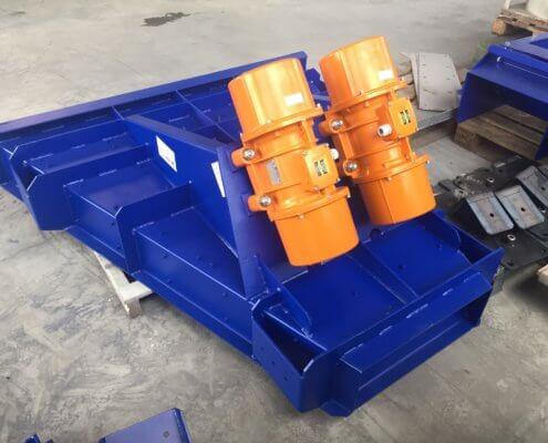 Schwingförderrinne - Recycling - Fördertechnik - 8