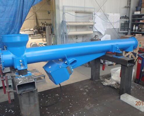 Schwingförderrohr - Recycling - Fördertechnik - 1