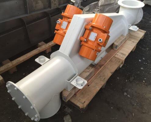 Schwingförderrohr - Recycling - Fördertechnik - 2