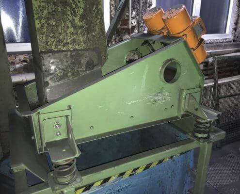 Schwingfördersieb - Recycling - Fördertechnik