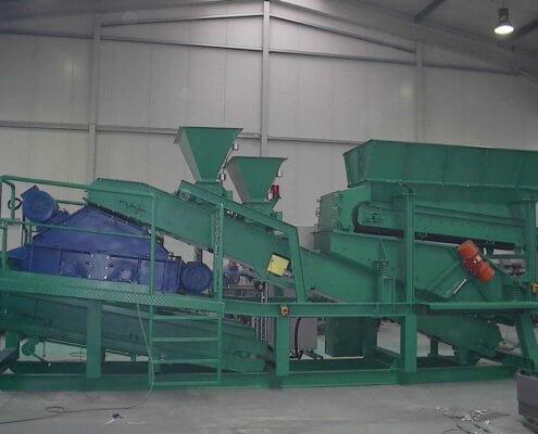 Bunkeranlage - Recycling / Fördertechnik