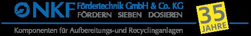 Logo - 35 Jahre NKF Fördertechnik
