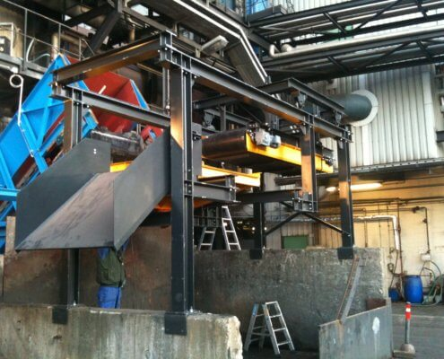 Fördertechnik / Recycling verschiedne Anlagen